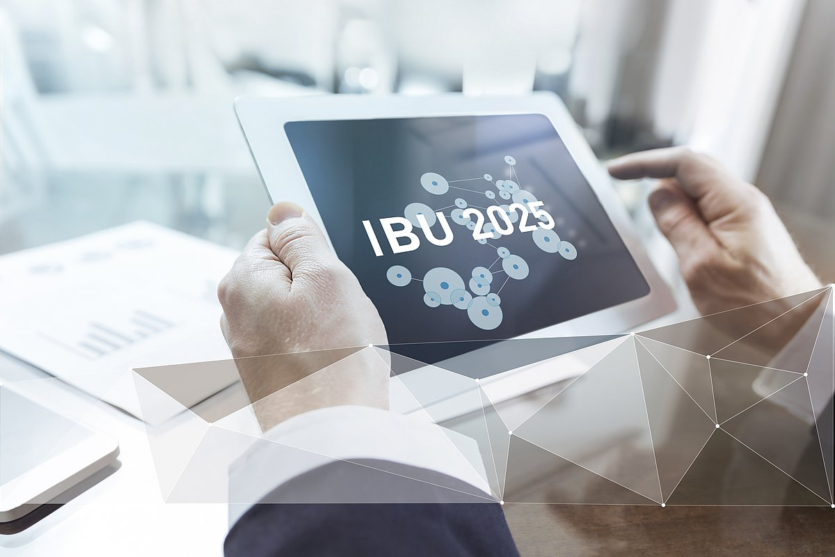IBU-tec Plan 2025 Tablet für Investor Relations